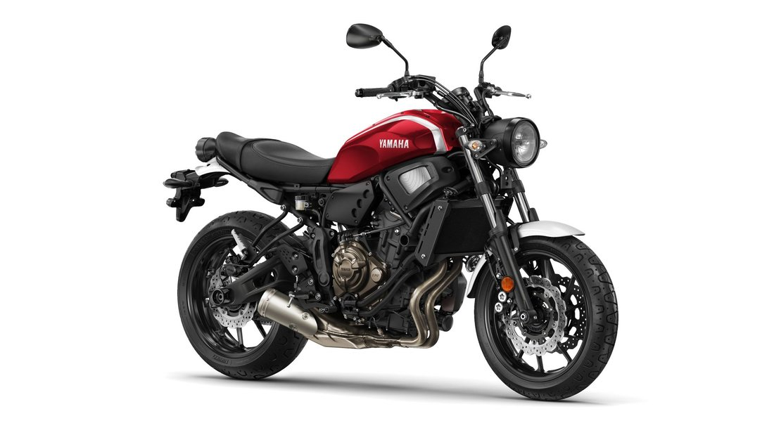 Yamaha XSR700 2018, Brilliant Red-53748