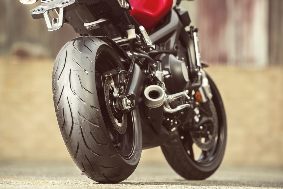Yamaha XSR900 2018, Racing Red