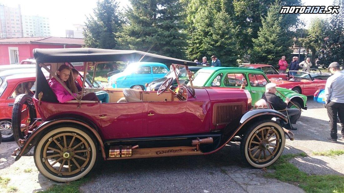 Willys Knight 1920 - Bankovský kopec 2017