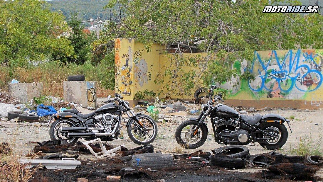 Harley-Davidson Breakout 2018 a Street Bob 2018