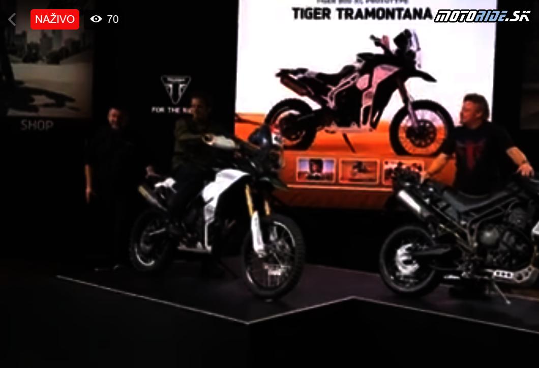 Triumph Tramontana prototyp