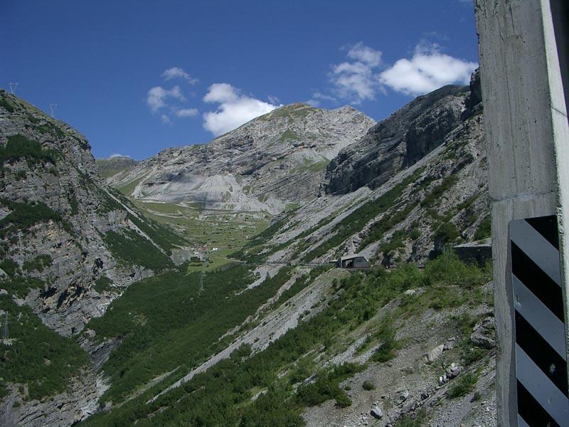 Južná strana Stilfser-Jochu (Pso. Di Stelvio) (2758 m.n.m)