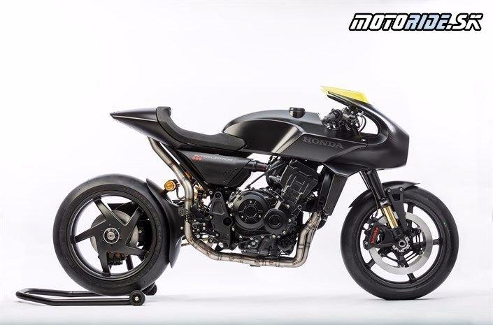 EICMA 2017 - koncept Honda CB4 Interceptor