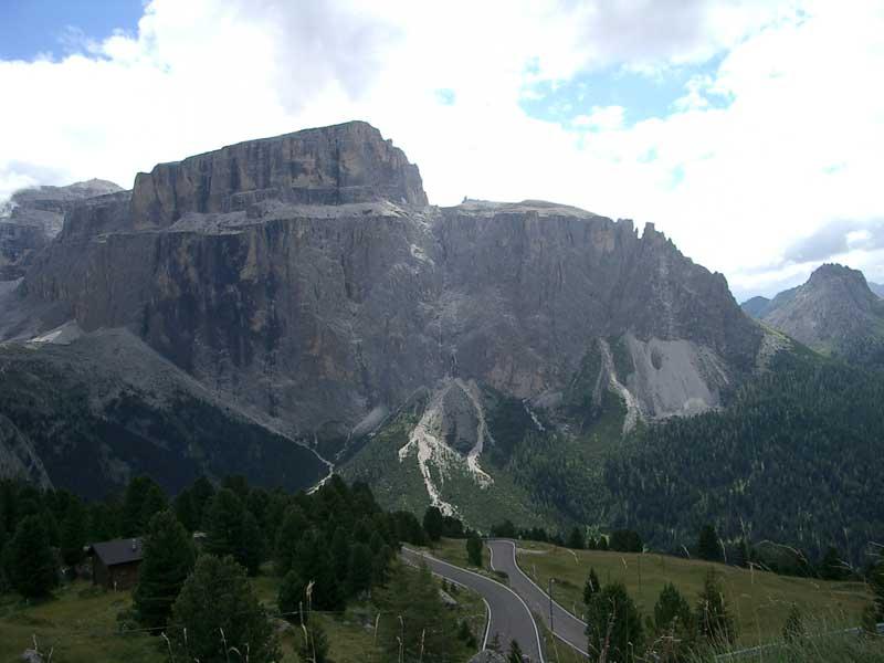 Cestou na Sella-Joch (2240 m.n.m)