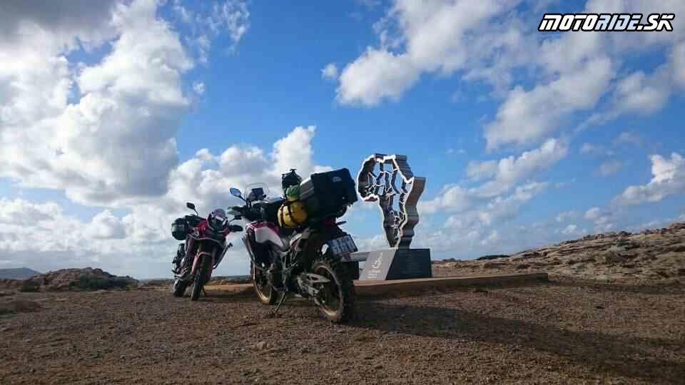 Cap Engela, Cap Serrat, Tabarka - Naživo: Na Afrikách do Afriky - Africa Twin Tunisia Adventure