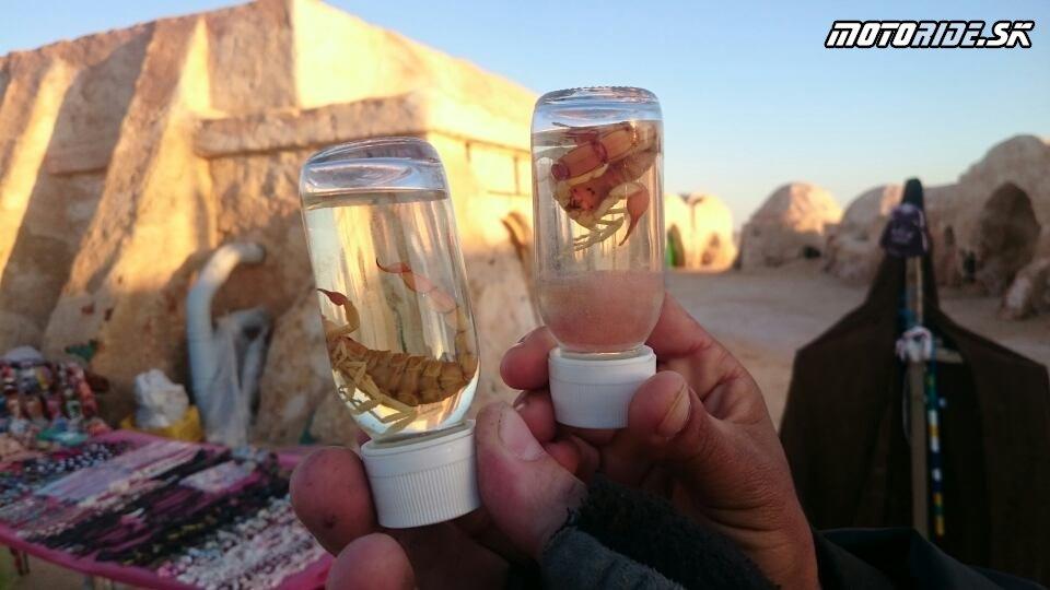 StarWars Nefta - Naživo: Na Afrikách do Afriky - Africa Twin Tunisia Adventure