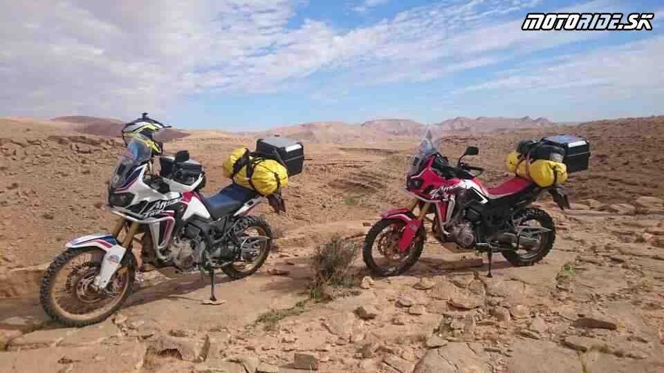 26.11.2017 20:47 - Naživo: Na Afrikách do Afriky - Africa Twin Tunisia Adventure