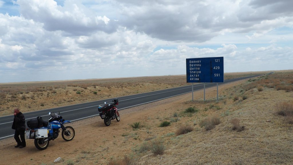 Takto vyzerala cesta celých 121km do Beyneu