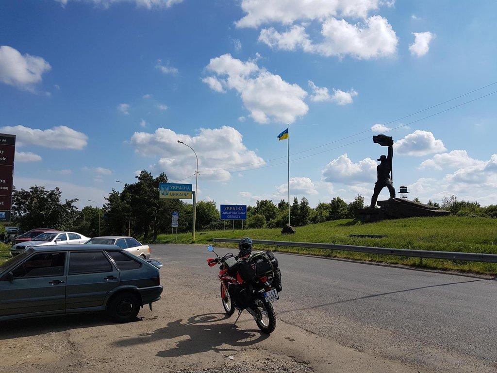 Za Ukrajinskou hranicou pred Užhorodom