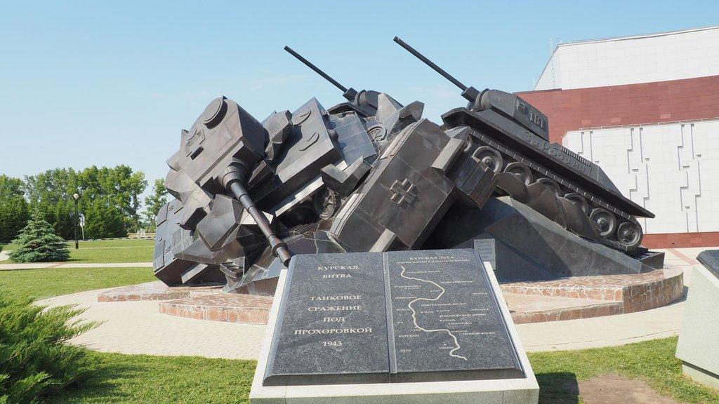 Prochorovka - pamätník bitky pri Kursku