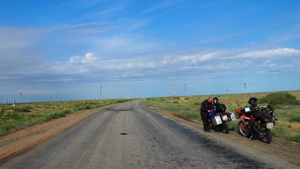Typický Kazachstan