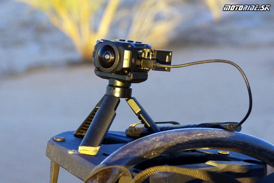 360-stupňová akčná kamera Garmin VIRB 360 - testovali sme v Tunisku