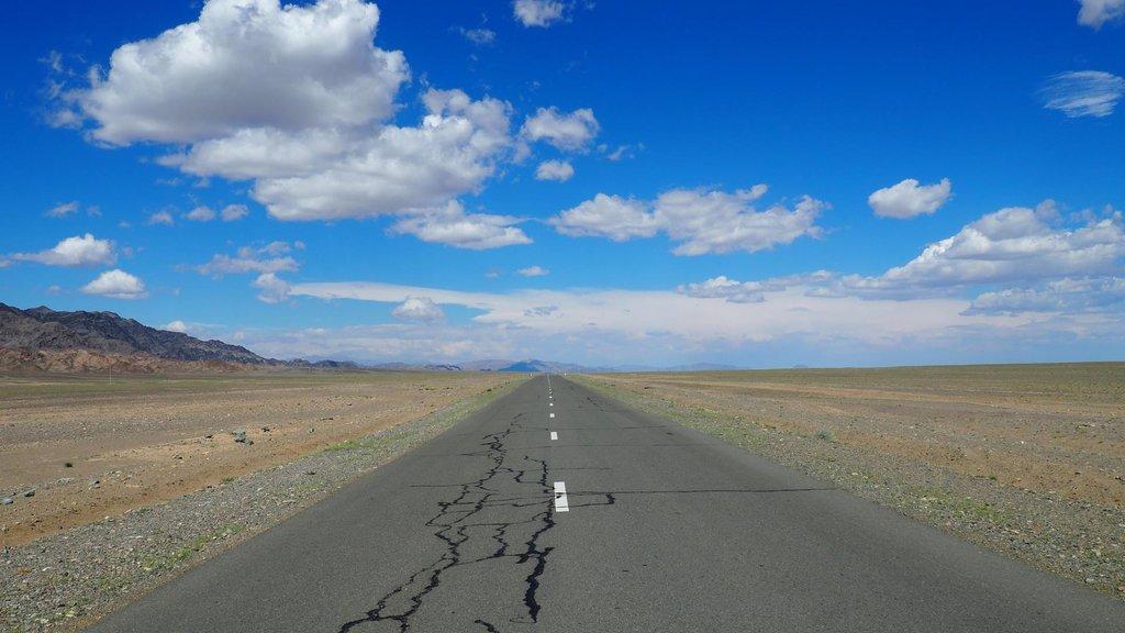 Mongolian highway