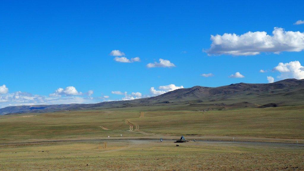 Sedlo pred mestom Altaj