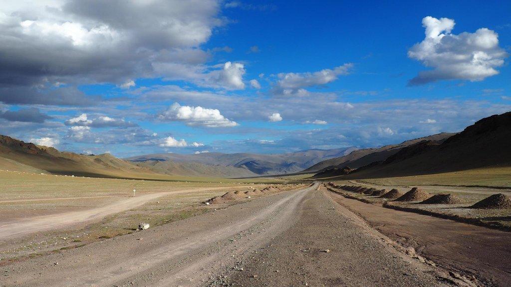 Lepšia a horšia cesta v Mongolsku