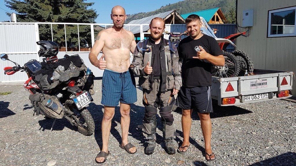 Odchod z Altaj Moto