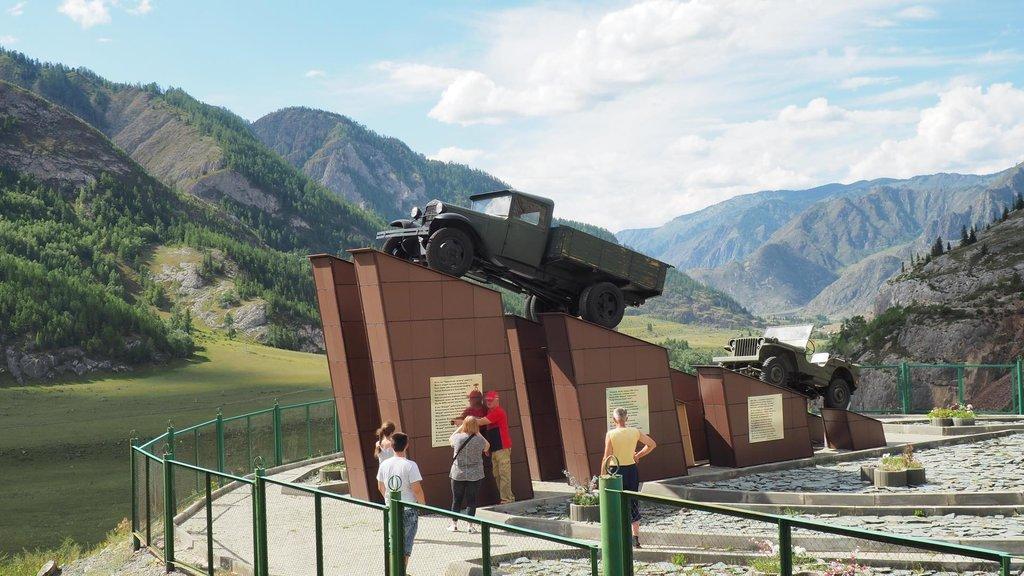 Pamätník šoférom Čujského traktu