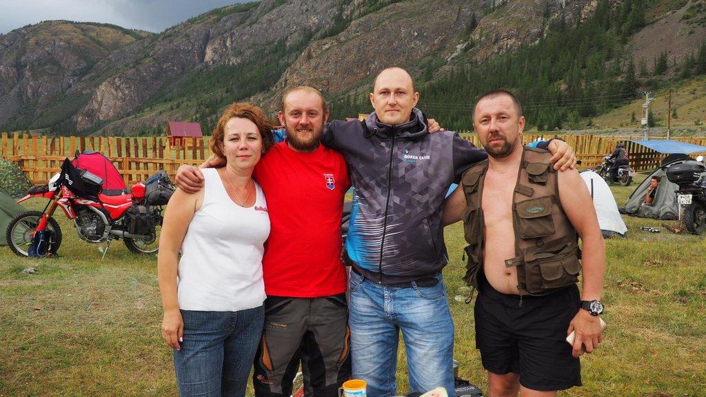 Motorkári z Barnaulu