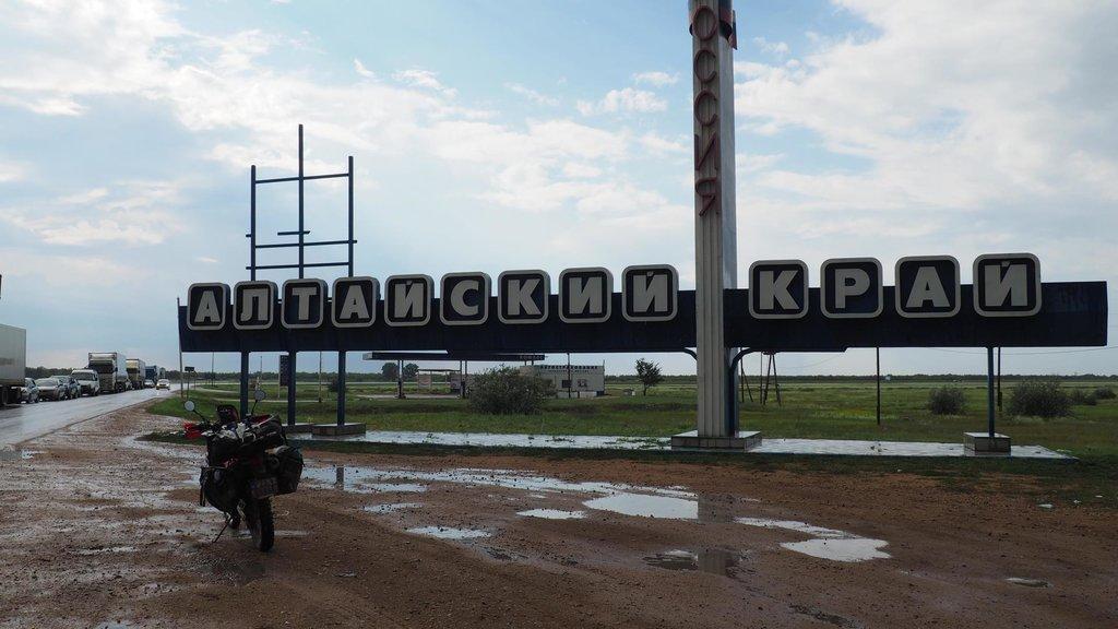 Rusko ma víta dažďom - Altajský kraj