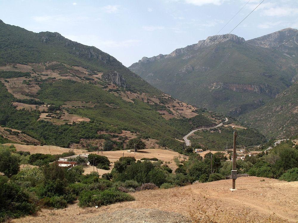 Zeleň vo vnútrozemí, taký je sever Maroka