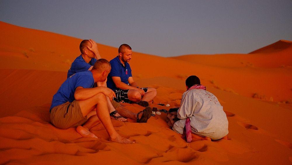 Zjavne sme boli nadšení, že nás na dune navštívil obchodník :)