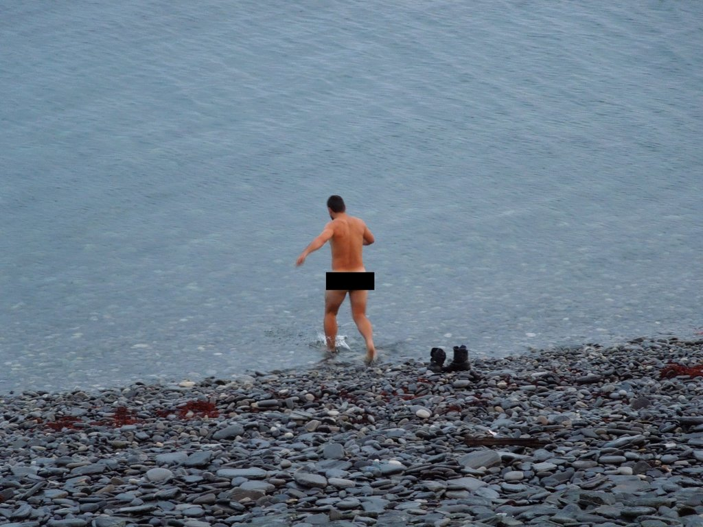 Kúpanie sa v Bárentsovom mori