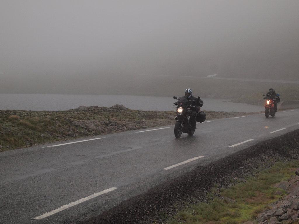 Smerom na Lysebotn fjord