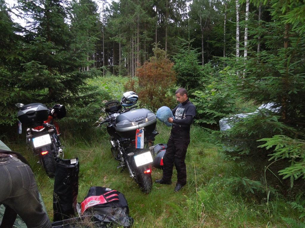 Kempovanie vo Švédsku