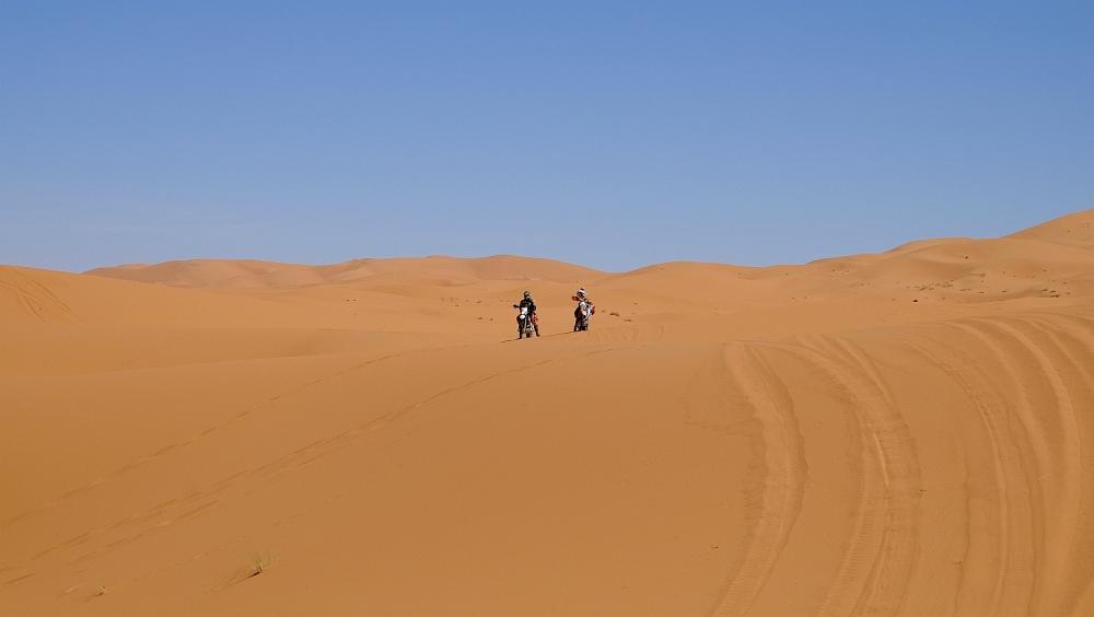 Maroko na ľahkých endurách