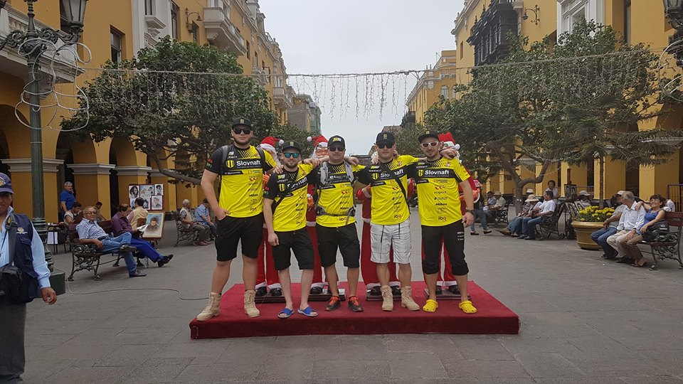 Dakar 2018 - tím Števa Svitka