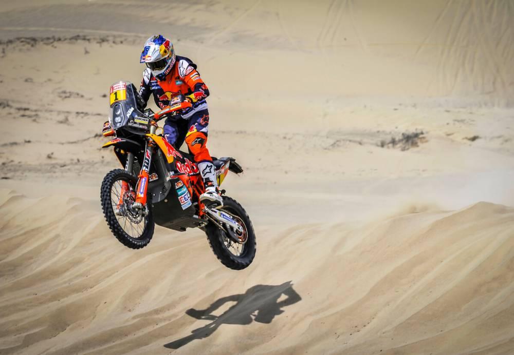 Sam Sunderland - Dakar 2018 - 1. etapa