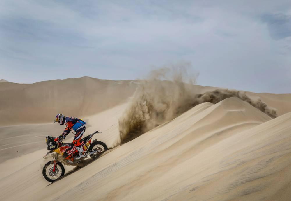 Toby Price (AUS) - Dakar 2018 - 1. etapa