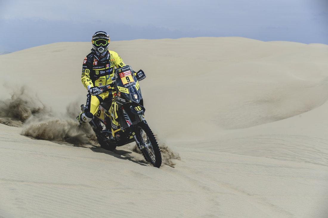 Štefan Svitko - Dakar 2018 - 1. etapa
