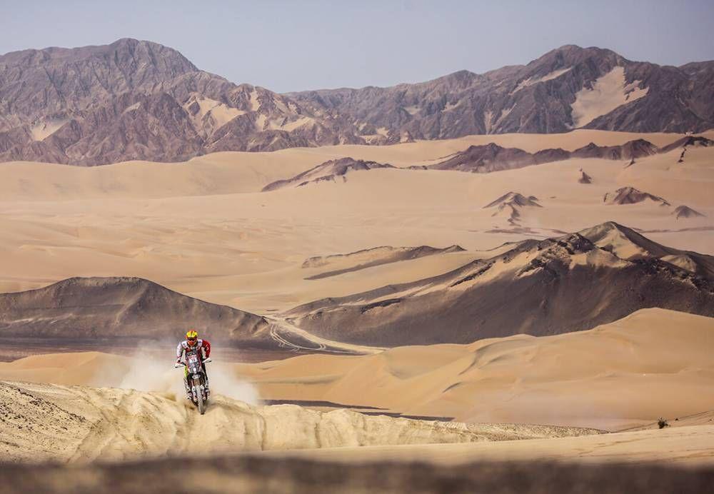 Dakar 2018 - 2 etapa