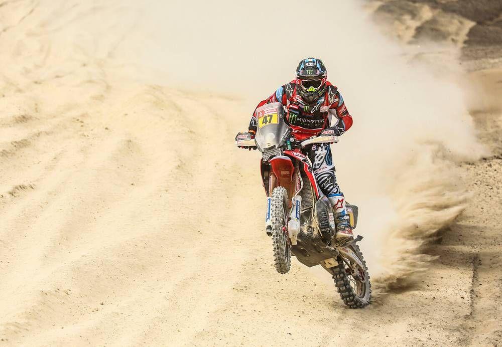 Benavides - Dakar 2018 - 2 etapa