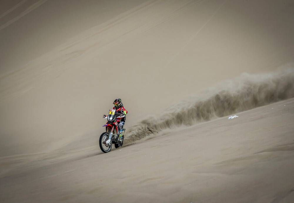 Barreda - Dakar 2018 - 2 etapa
