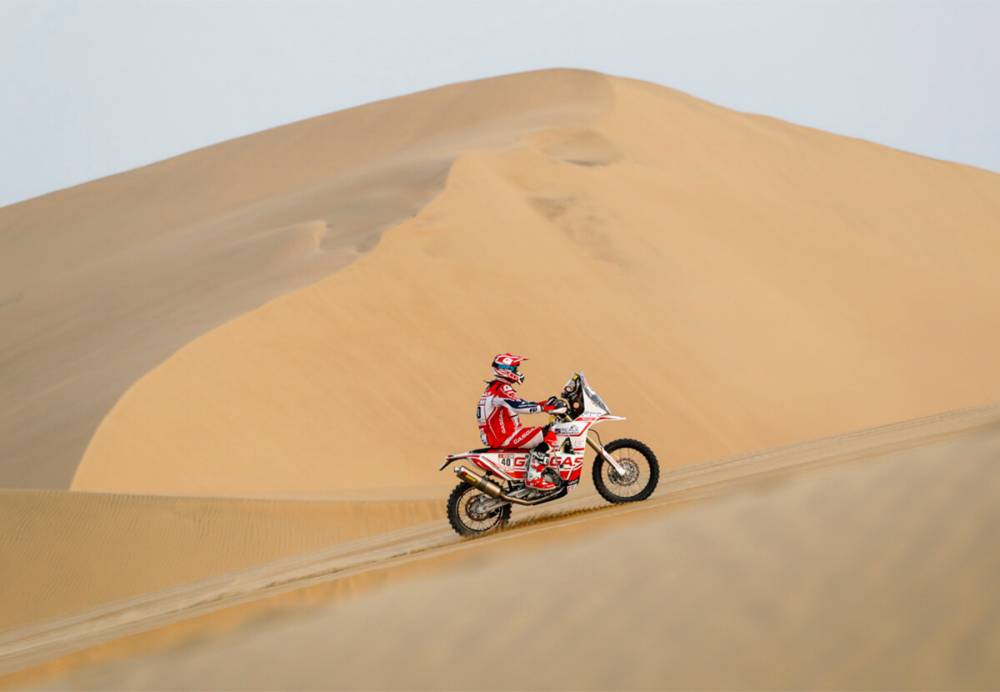 Johny Aubert - Dakar 2018 - 3. etapa