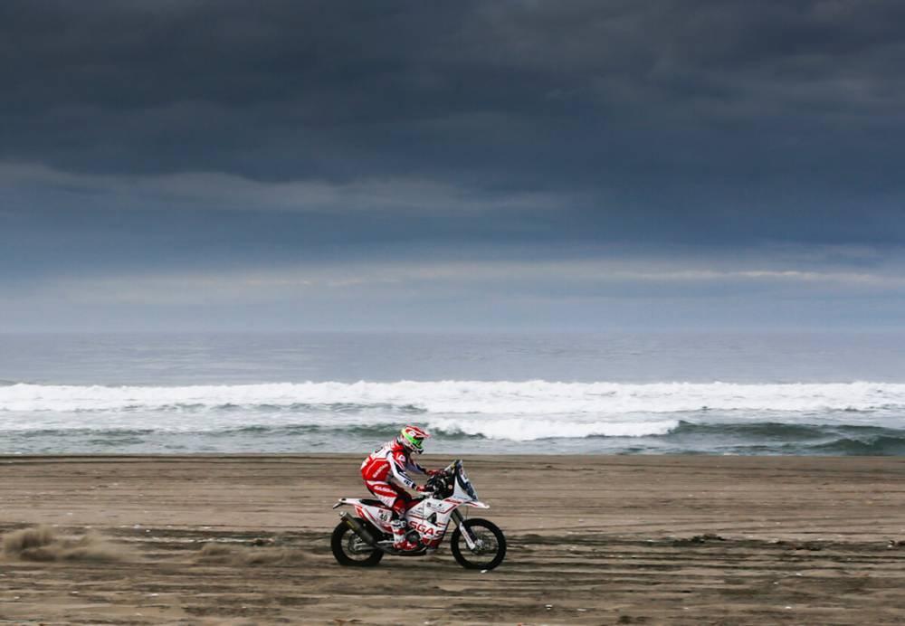 Johny Aubert - Dakar 2018 - 4. etapa