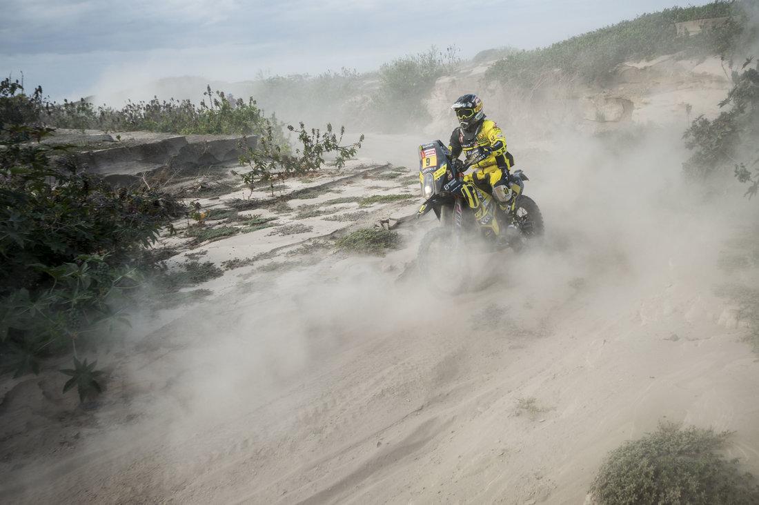 Štefan Svitko - Dakar 2018 - 4. etapa
