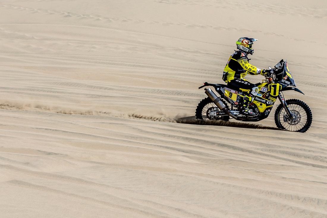 Stefan Svitko - Dakar 2018 - 1. etapa