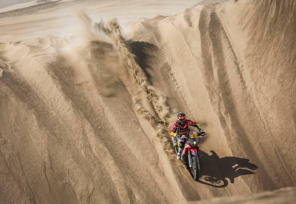 Barreda - Dakar 2018 - 5. etapa