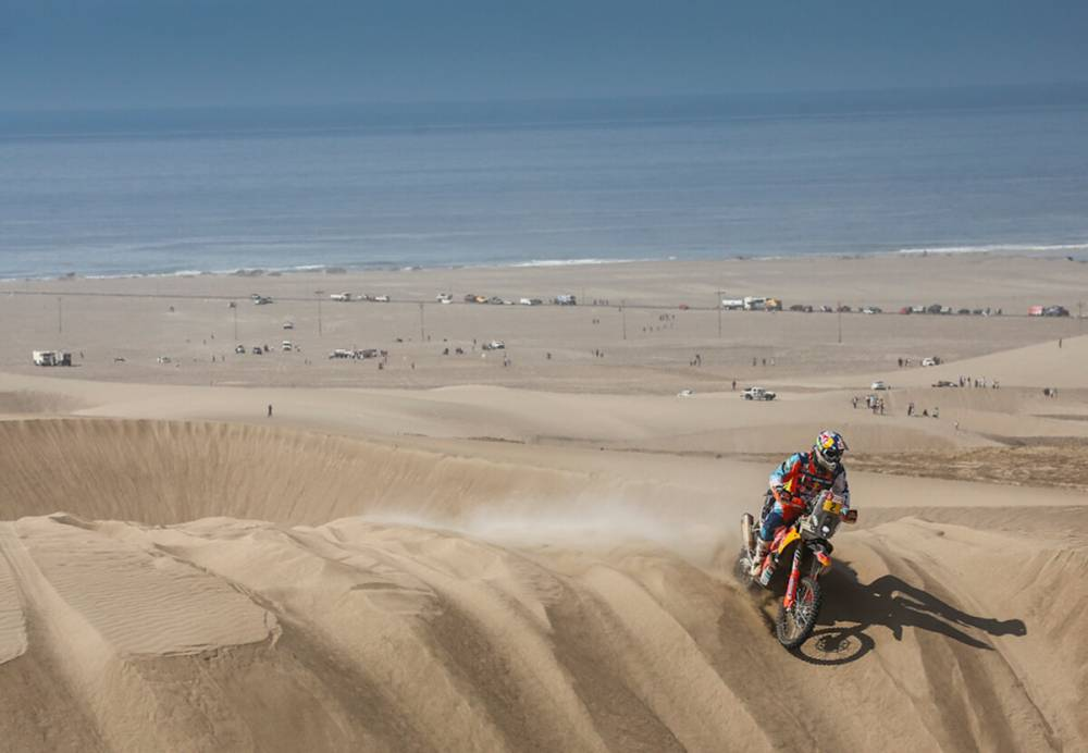 Walkner - Dakar 2018 - 5. etapa