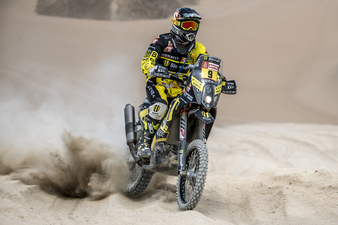 Stefan Svitko - Dakar 2018 - 2. etapa