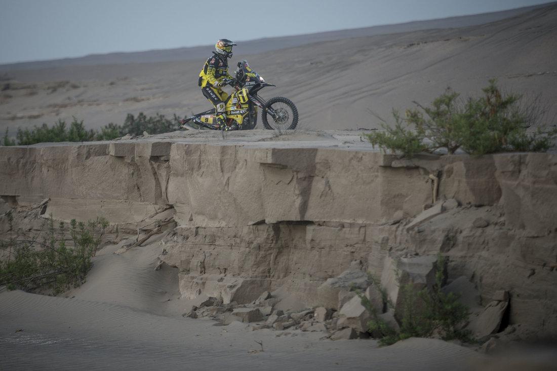 Štefan Svitko - Dakar 2018 - 5. etapa