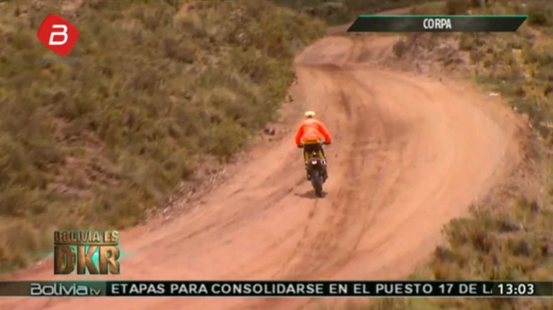 Štefan Svitko na štarte 6. etapy - Dakar 2018 - 6. etapa - Arequipa - La Paz