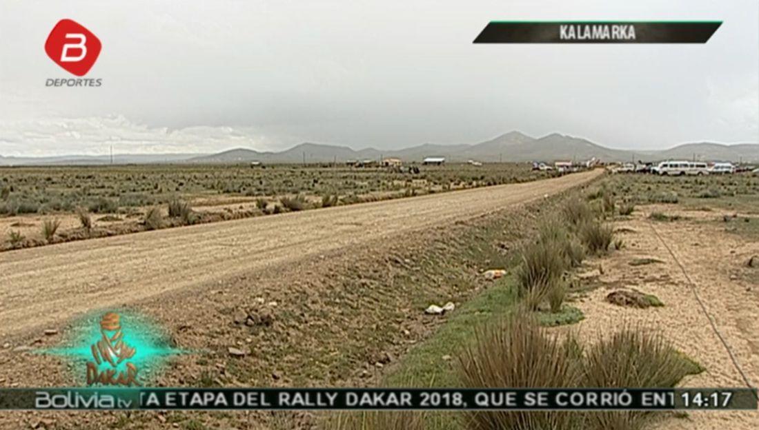 Cieľ 6. etapy - Dakar 2018