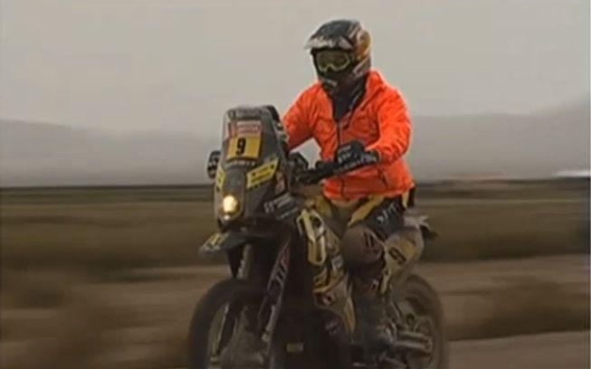 Štefan Svitko - Dakar 2018 - 6. etapa