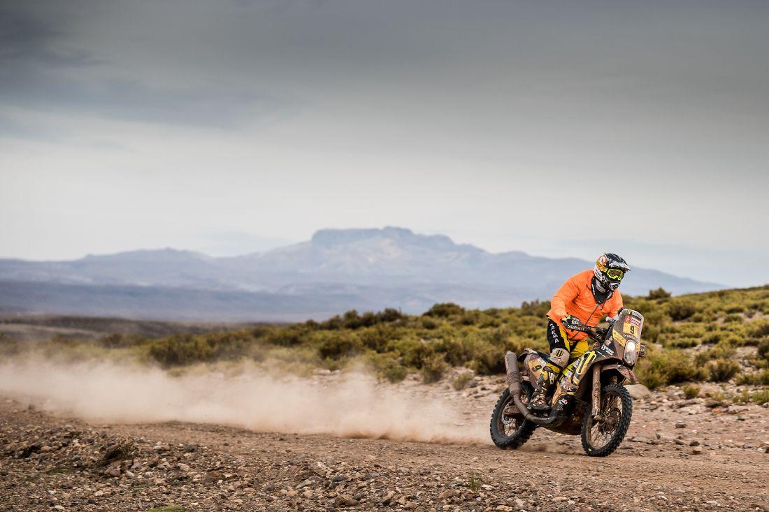 Štefan Svitko - Dakar 2018 - 8. etapa