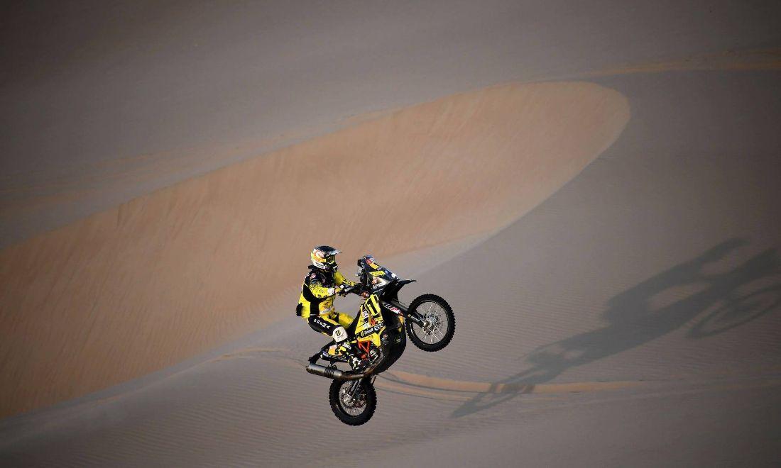 Štefan Svitko - Dakar 2018 - 3. etapa