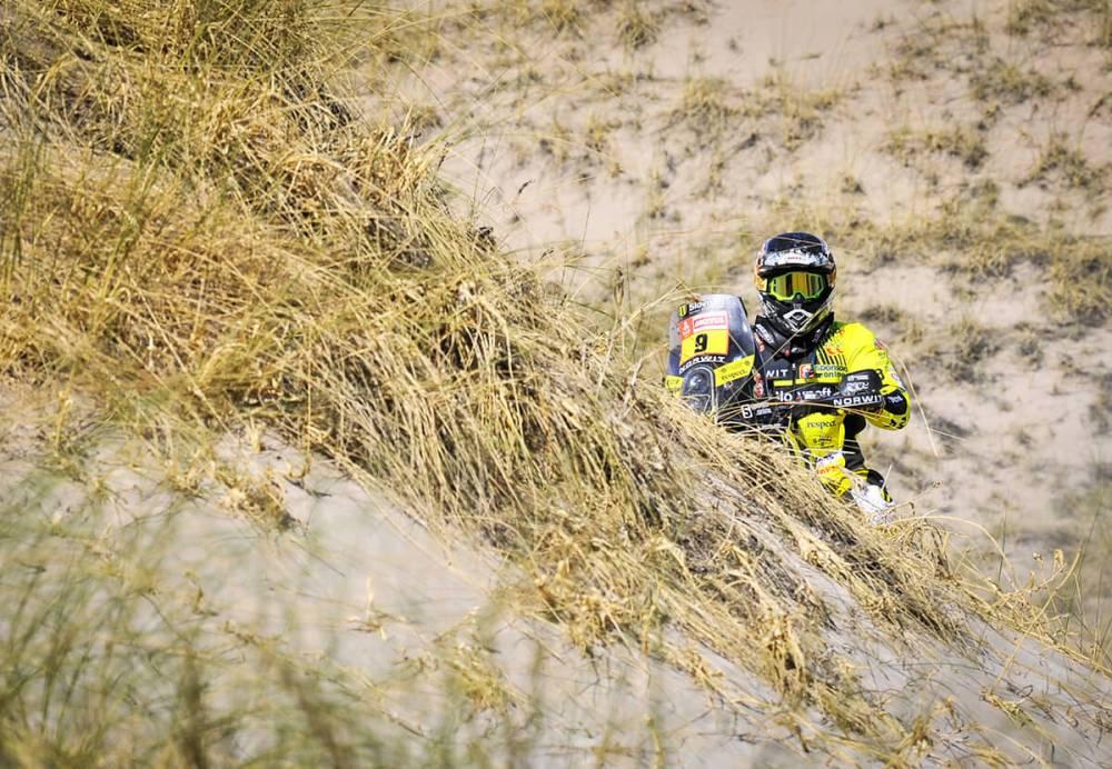 Štefan Svitko - Dakar 2008 - 10. etapa